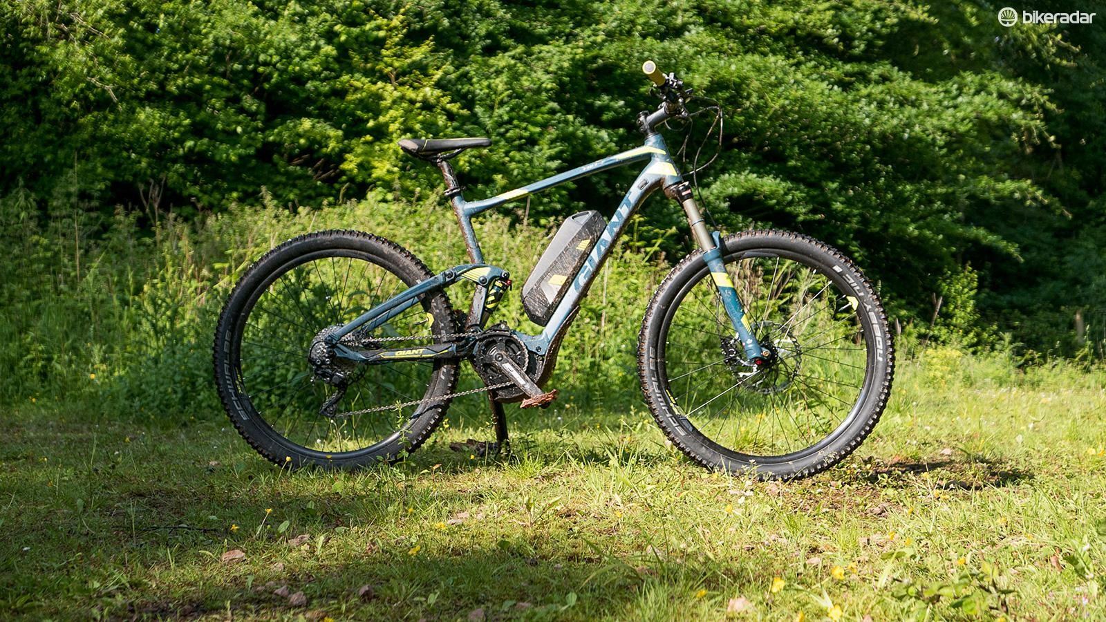 If you're after an affordable option (by e-MTB standards) then Giant's Full E+ 2 is a credible performer