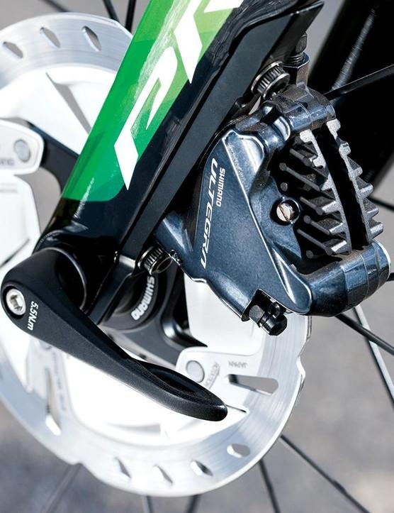 Shimano Ultegra hydraulic disc brakes sort stopping
