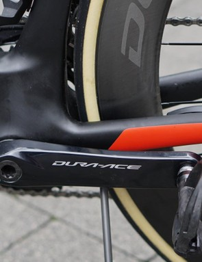Check out the enormous frame area above the bottom bracket