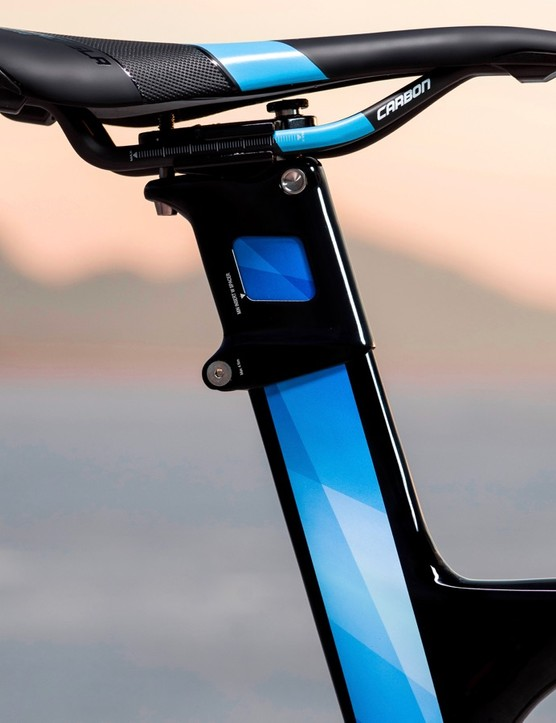 Giant's seatmast weighs less than a standard seatpost and can offer more compliance, but it can complicate traveling with your bike