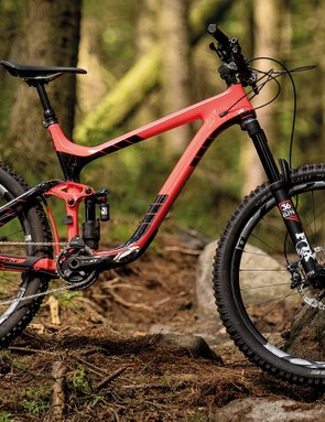 The Giant's carbon rims sound like a bonus but, along with its suspension, can feel a little harsh