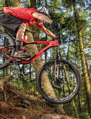 The Reign is ready to get rowdy but its suspension needs fiddling to unleash the bike's potential