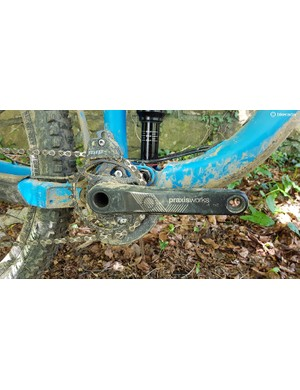 Praxis cranks head up the drivetrain