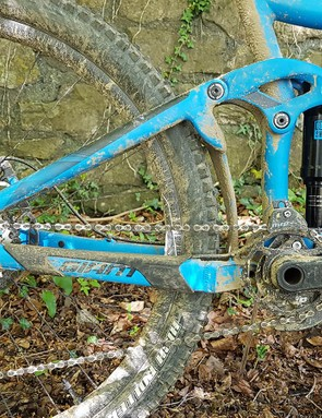 Giant's Maestro suspension is seen across the range and has won many fans for its supple, supportive feel