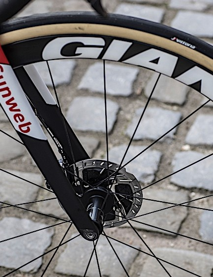Giant SLR 42 Disc wheels