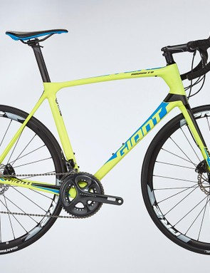 The Giant TCR is a great value race bike