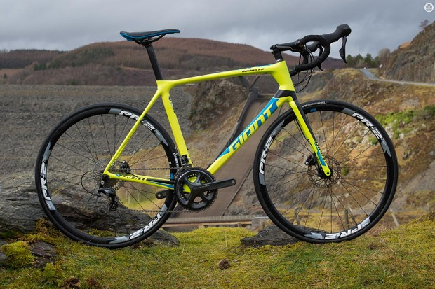 Giant's TCR Advanced 1 disc