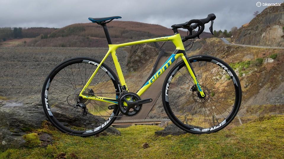 b0a2e14c31f Giant TCR Advanced 1 Disc review - BikeRadar