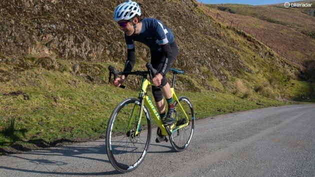 Beating your mates to the top of a climb could be your goal