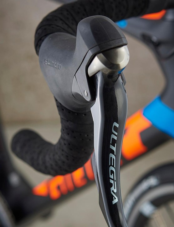 It's full Ultegra for Giant, which is good to see at this price