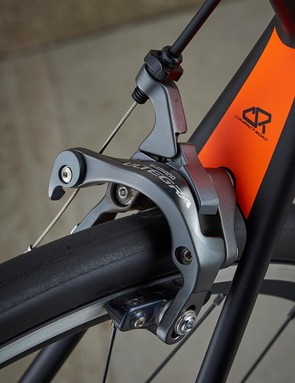 The Ultegra braking is excellent, offering power and modulation
