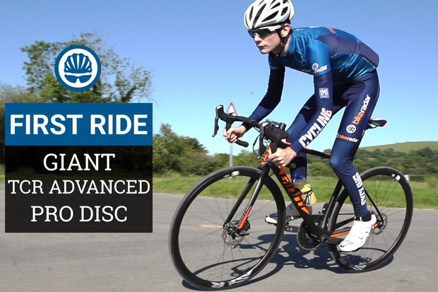 The future of bikes is... Giant TCR Advanced Pro Disc shaped