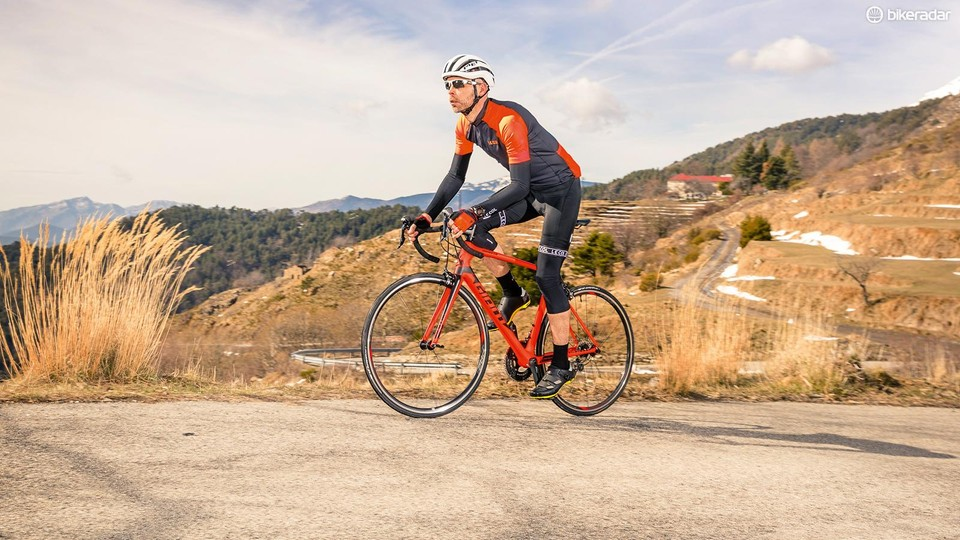 ade6d1f32ce ... 2018 Road Bike of the year Dave Caudery / Immediate Media. Giant's TCR  Advanced 2