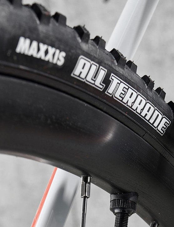I benefitted from the tubeless tyres straight from the box