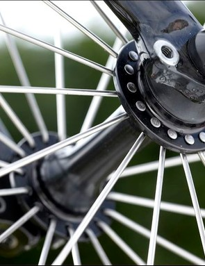 Hubs can be serviced using basic cycle tools