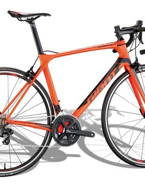 Giant's TCR Advanced 2 is BikeRadar's 2018 Road Bike of the year