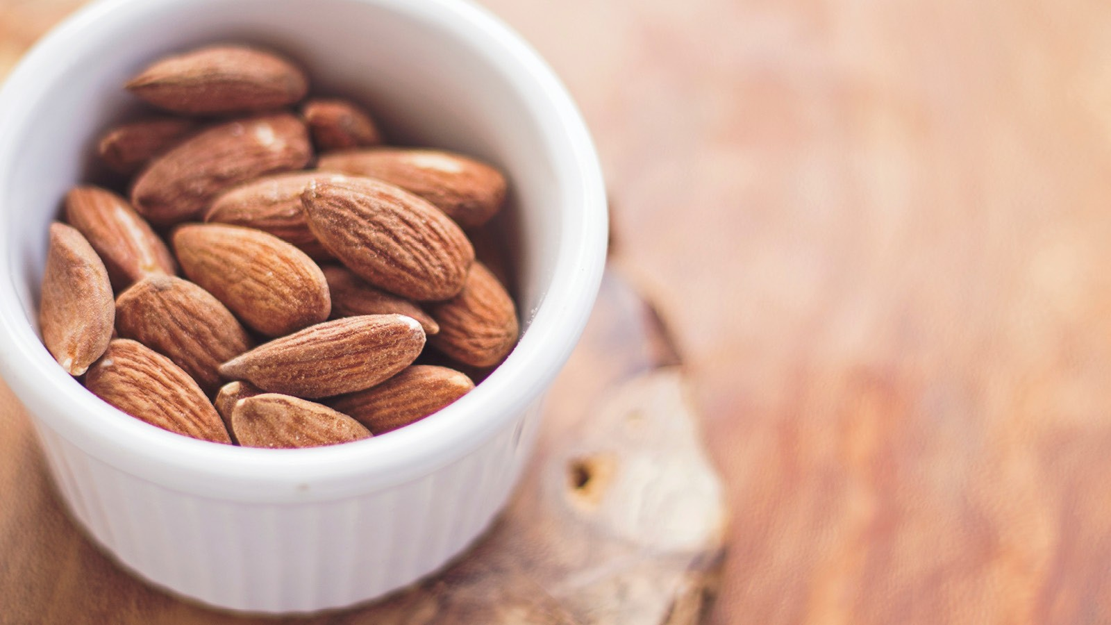 Nuts such as almonds are a good source of energy