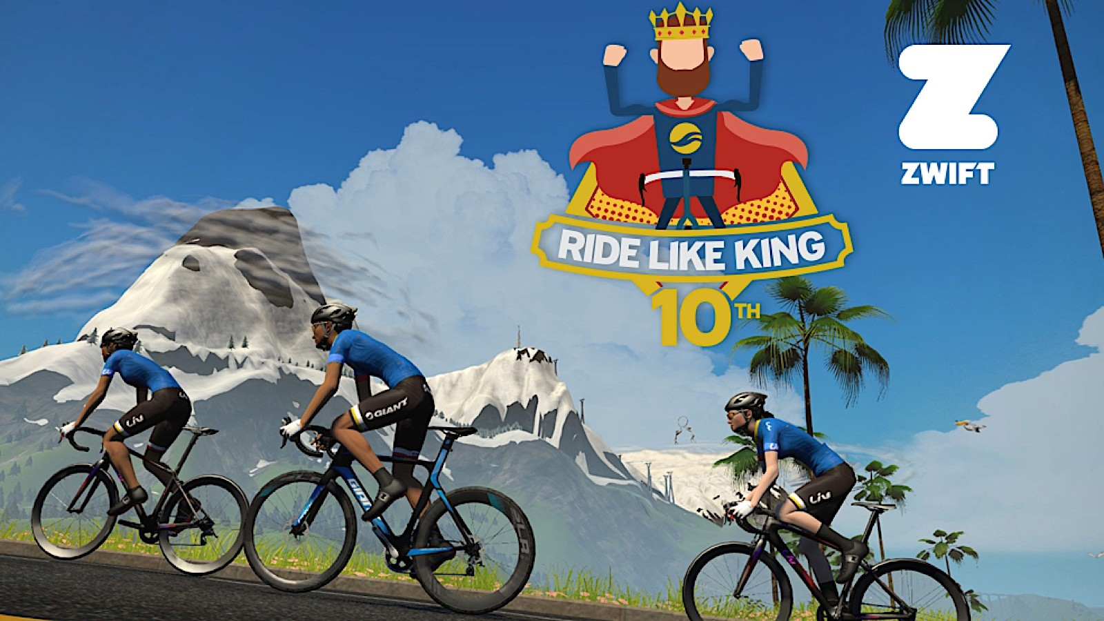 10 years ago at age 73, Giant founder King Liu did a big ride. The tradition continues today