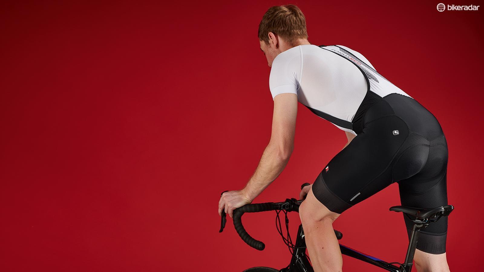Giordana Cycling Bibs Shorts FR-C PRO Mens-Black//Red Size M BRAND NEW
