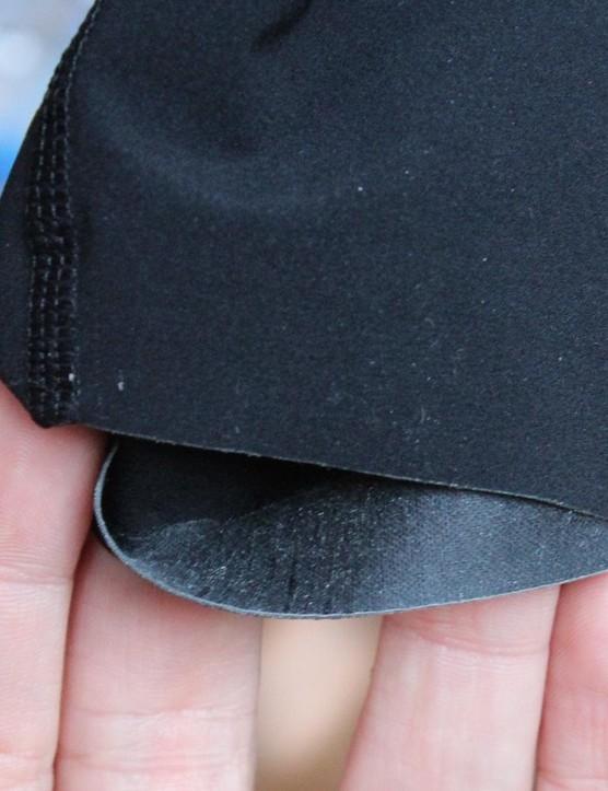 The NX-G bibs' leg hems are ultra-minimal