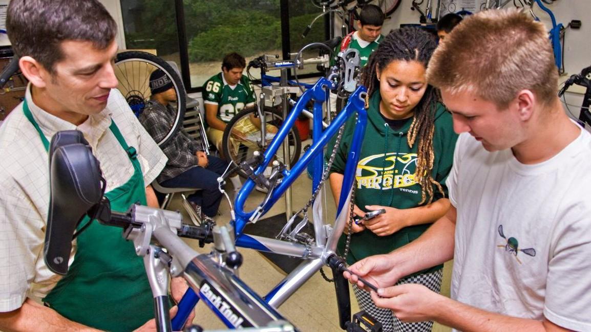 Project Bike Tech helps schools establish a bike industry curriculum