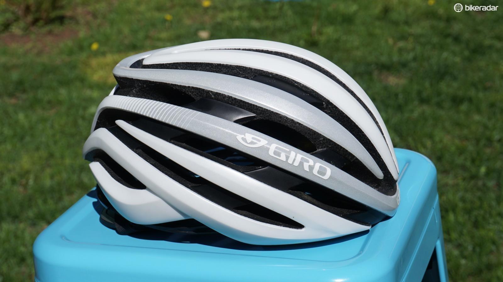 The Cinder MIPS is Giro's second-tier road helmet