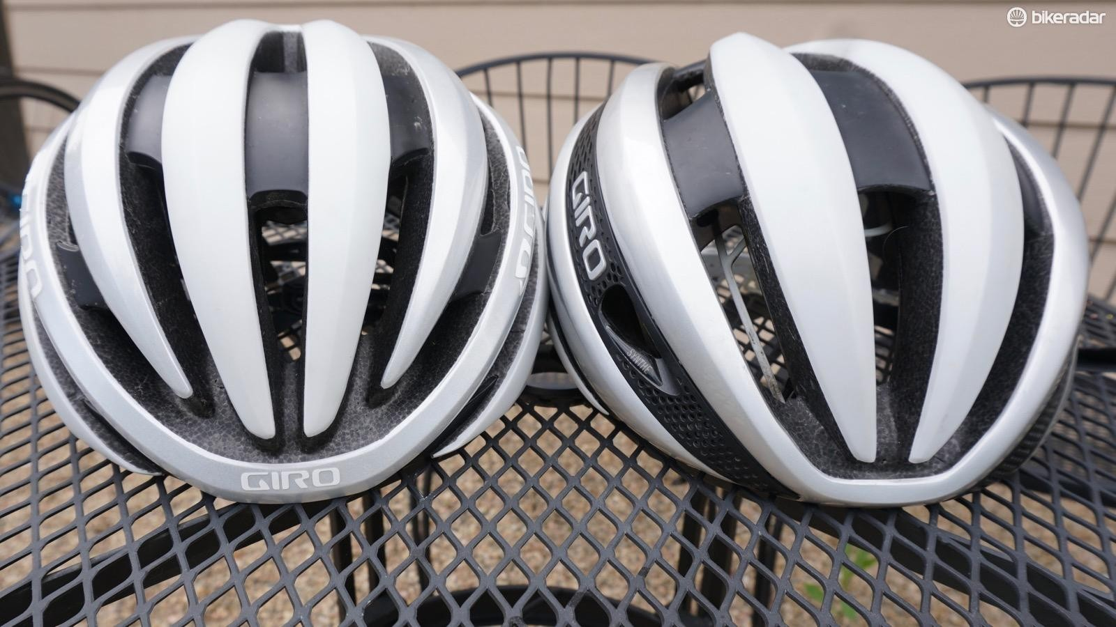 The $150 / £125 Cinder (left) and the top-end $270 / £225 Synthe