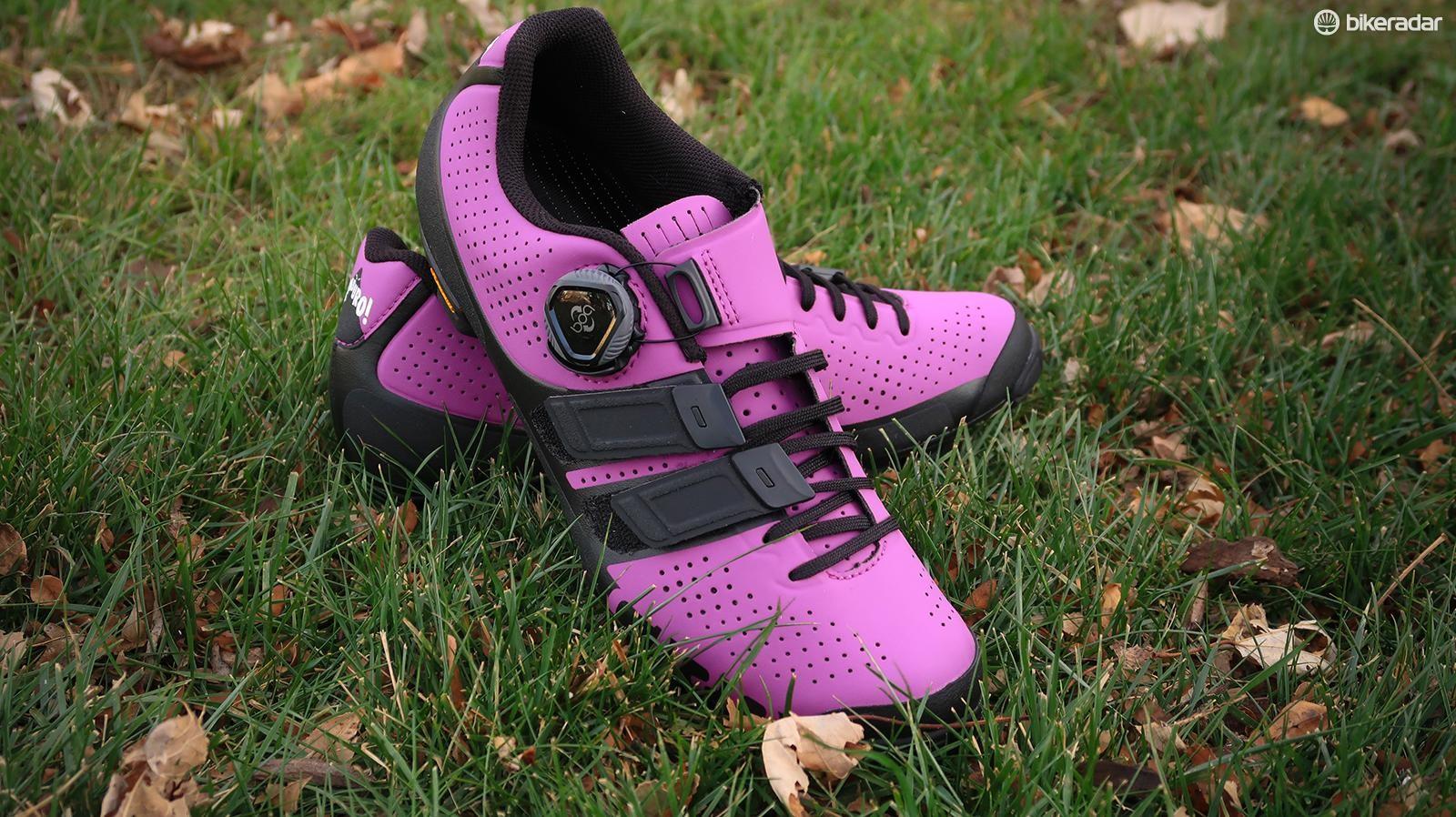 Techlace has made its way to Giro's mountain bike shoes