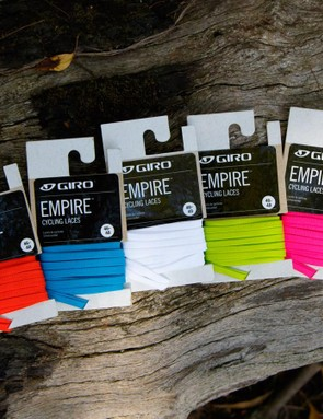 Add some colour to your laced cycling shoes with these Giro Empire cycling shoe laces