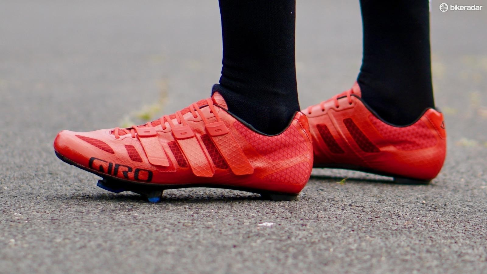 The new Giro Prolight Techlace is a minimalist shoe