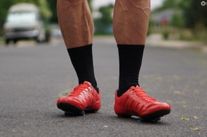 Without buckles or Boas, and even standard Velcro straps or tied laces up top, the Prolight Techlaces are quite sleek