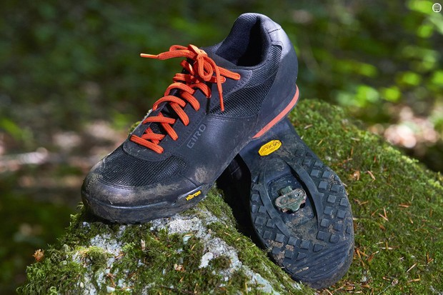 The Vibram sole is reasonable grippy, and is flexible so walks well