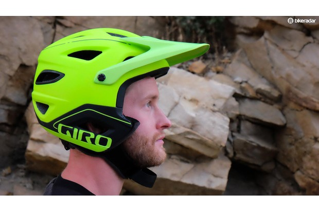 """Giro Switchblade without chin guard: """"our favourite enduro lid at this time"""""""