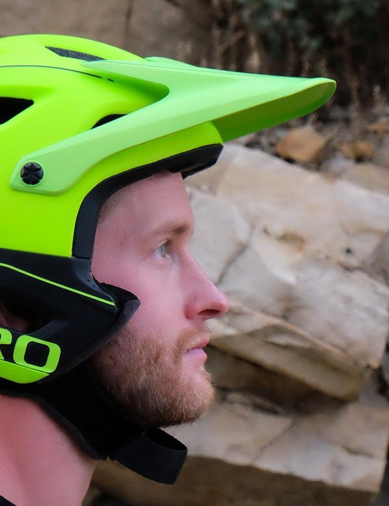 Giro Switchblade without chin guard: