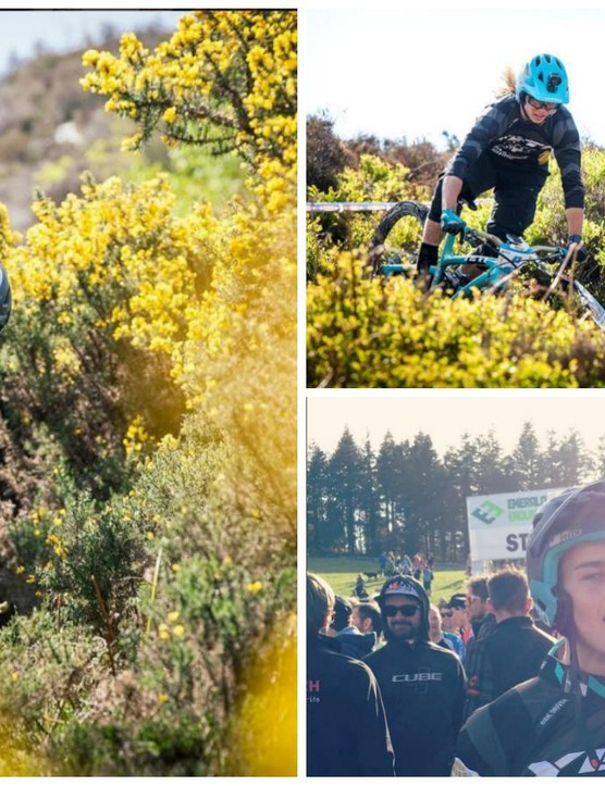 Enduro racers Richie Rude and Cody Kelley have been spotted wearing a new convertible Giro helmet