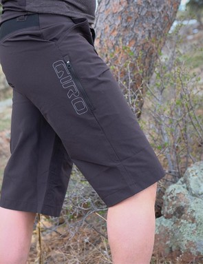 The fit of the Truant Short is slim, with a 14in inseam and leg openings that play well with knee pads
