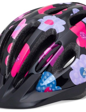 The Giro Flurry is a value-for-money option with a range of colours and graphics
