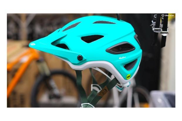 The Giro Montara, a women's specific mountain bike/enduro helmet from Giro Helmets