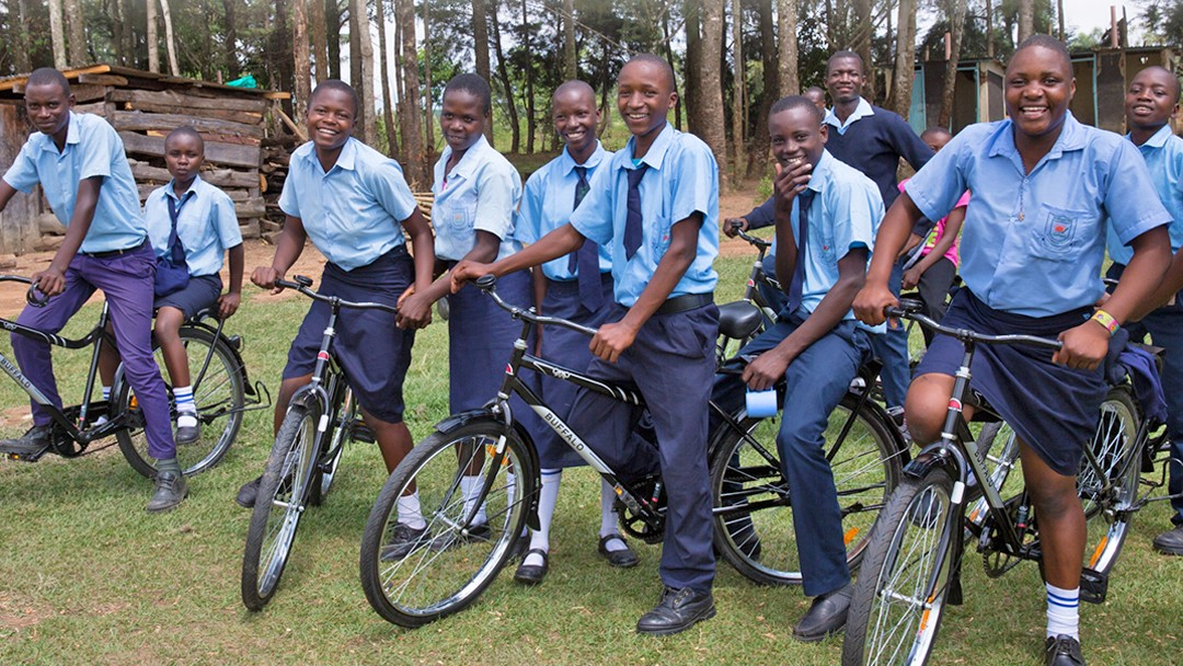 Please donate to help World Bicycle Relief achieve its goal