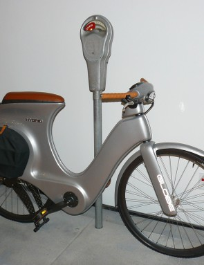 Specialized Globe concept, inspired by Vespa, perhaps?