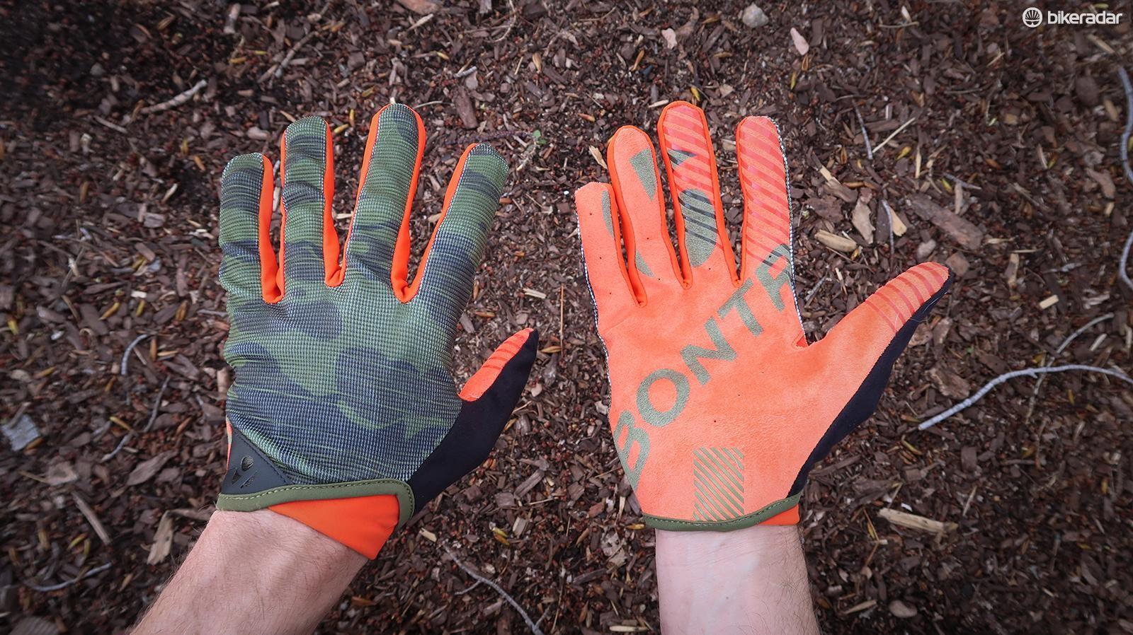 Bontrager's minimalist Rhythm gloves