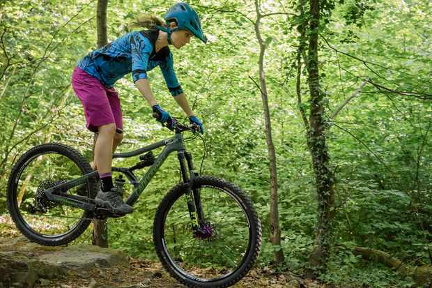 Anna Glowinski shows us how to float over gnarly terrain with ease