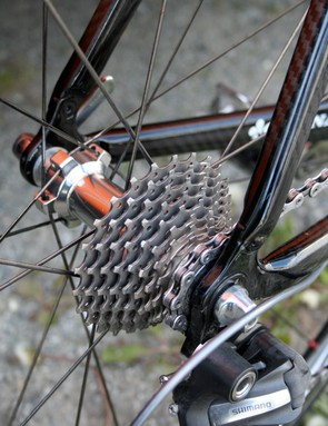 The Dauphiné is a very hilly race and so Niermann equips himself with an all-terrain 11-25T cassette.