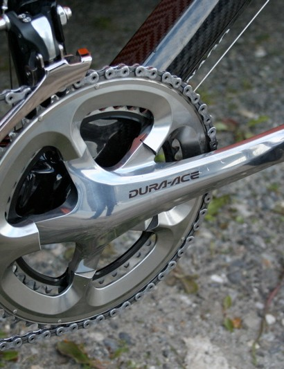 The exception to the 7900 groupset is this 7800 chainset, but those are 7900 rings which is why they look like they don't fit.