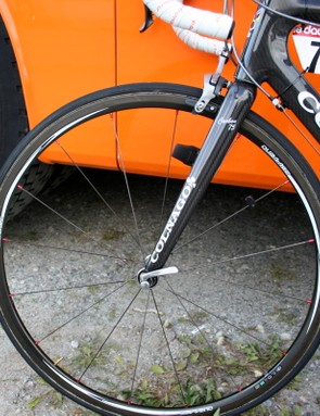 Niermann is also using a prototype set of shallow section carbon wheels.