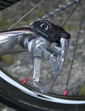 Shimano provides everything it can to Rabobank including its Dura-Ace SPD-SL PD-7810 pedals.