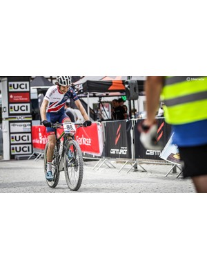 My Poc Octal kept me cool at the Marathon World Championships