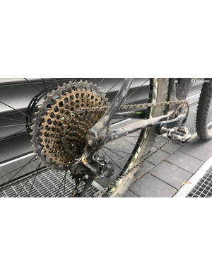 The 50t sproket on SRAM's Eagle groupset is a lifesaver