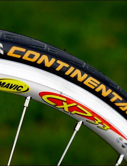 Mavic CXP33 rims are overkill for most riders