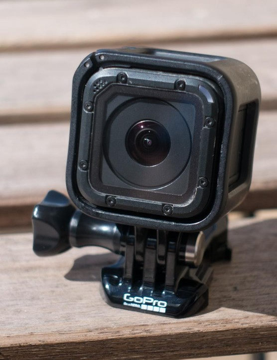 The GoPro Hero 4 Session is tiny and we like that